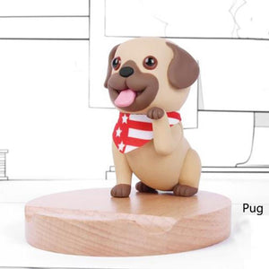 Cutest Boston Terrier Office Desk Mobile Phone HolderHome DecorPug