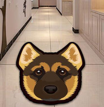 Load image into Gallery viewer, Cutest Bull Terrier Floor RugHome DecorAlsatian / German ShepherdMedium