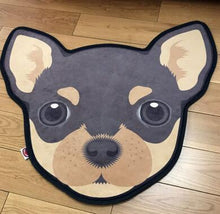 Load image into Gallery viewer, Cutest Bull Terrier Floor RugHome DecorChihuahuaMedium