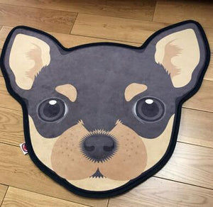 Cutest Bull Terrier Floor RugHome DecorChihuahuaMedium