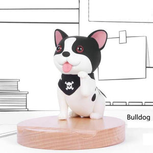 Cutest Bull Terrier Office Desk Mobile Phone HolderHome DecorBoston Terrier