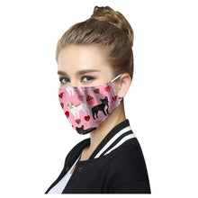 Load image into Gallery viewer, Cutest Bull Terriers in Bloom Face Mask - Series 1Accessories