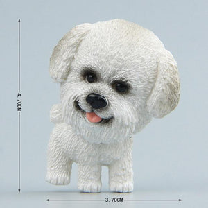 Cutest Chihuahua Fridge MagnetHome DecorBichon Frise without Flowers