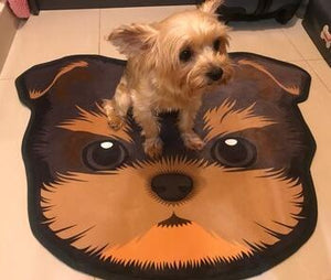 Cutest Corgi Floor Rug / DoormatHome DecorYorkie / Yorkshire TerrierMedium