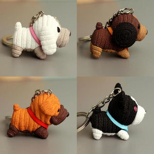 Cutest Dachshund Love KeychainKey Chain