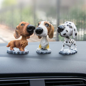 Cutest Dalmatian Car Bobble HeadCar