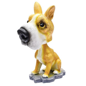 Cutest Dalmatian Car Bobble HeadCarBasenji