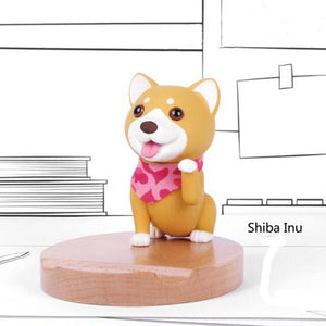 Cutest Doggo Love Office Desk Mobile Phone Holder FigurineCell Phone Accessories