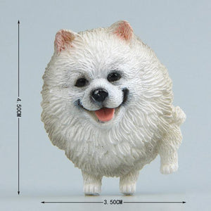 Cutest Dogs Fridge MagnetsHome DecorEskimo Dog / Pomeranian / Samoyed / Spitz - Straight