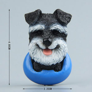 Cutest Dogs Fridge MagnetsHome DecorMini Schnauzer