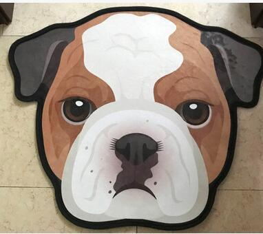 Cutest English Bulldog Floor RugHome DecorEnglish BulldogMedium