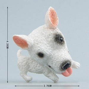 Cutest German Shepherd Fridge MagnetHome DecorBull Terrier