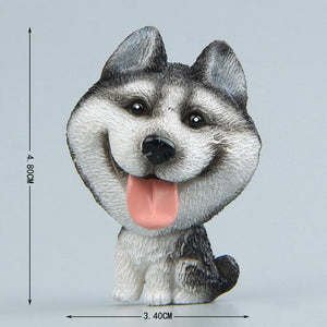 Cutest German Shepherd Fridge MagnetHome DecorHusky