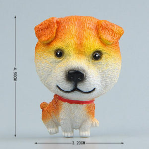 Cutest German Shepherd Fridge MagnetHome DecorShiba Inu