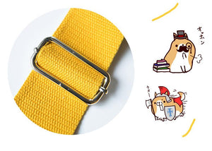 Cutest Husky and Shiba Inu Love Messenger BagsAccessories