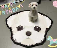 Load image into Gallery viewer, Cutest Husky Floor RugHome DecorBichon FriseMedium