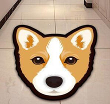 Load image into Gallery viewer, Cutest Husky Floor RugHome DecorCorgiMedium