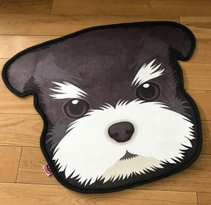 Cutest Husky Floor RugHome DecorMini SchnauzerMedium