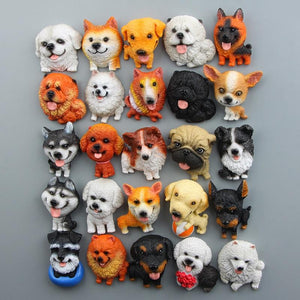 Cutest Husky Fridge MagnetHome Decor