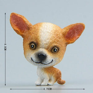 Cutest Husky Fridge MagnetHome DecorChihuahua