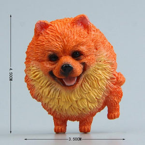 Cutest Husky Fridge MagnetHome DecorPomeranian