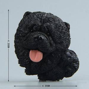 Cutest Husky Fridge MagnetHome DecorTibetan Mastiff - Black