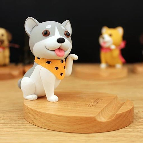 Cutest Husky Office Desk Mobile Phone HolderHome Decor
