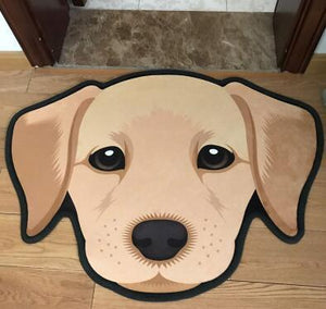 Cutest Labrador Floor RugHome DecorLabradorMedium