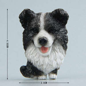 Cutest Mini Schnauzer Fridge MagnetHome DecorBorder Collie