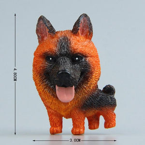 Cutest Mini Schnauzer Fridge MagnetHome DecorGerman Shepherd