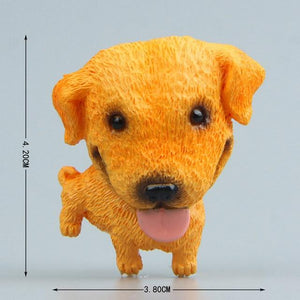 Cutest Mini Schnauzer Fridge MagnetHome DecorLabrador without Ball