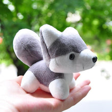 Load image into Gallery viewer, Cutest Plush Husky Keychain or Good Luck CharmKey Chain