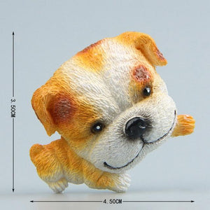 Cutest Pug Fridge MagnetHome DecorEnglish Bulldog