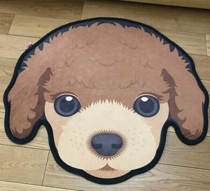 Cutest Pug Love Floor RugHome DecorBeaglierMedium
