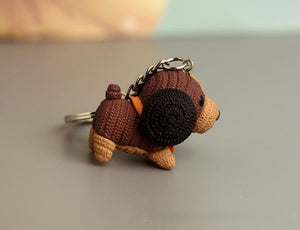 Cutest Pug Love KeychainKey ChainDachshund