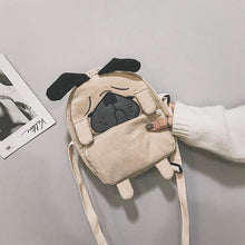 Load image into Gallery viewer, Cutest Pug Love Messenger BagBag