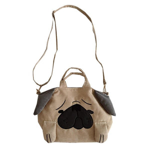 Cutest Pug Love Tote Sling BagBag