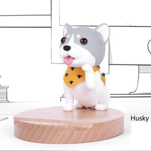 Cutest Pug Office Desk Mobile Phone HolderHome DecorHusky