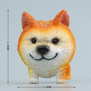 Cutest Rough Collie Fridge MagnetHome DecorAkita
