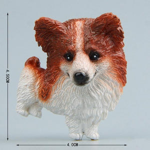 Cutest Rough Collie Fridge MagnetHome DecorCorgi - Cardigan Welsh