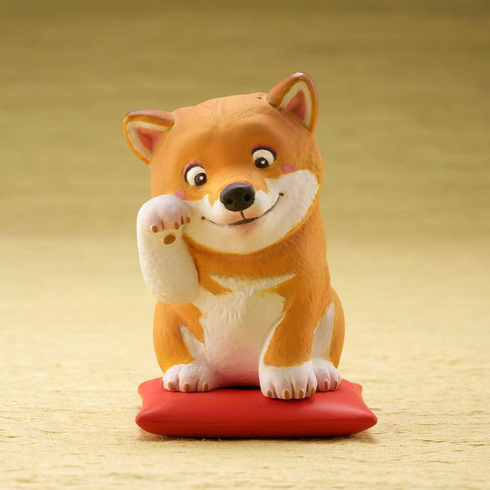 Cutest Shiba Inu Desktop Ornament FigurineHome DecorShiba Inu