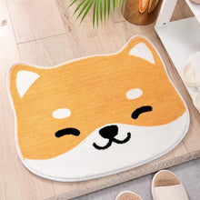 Load image into Gallery viewer, Cutest Shiba Inu Non Slip Bathroom MatMat