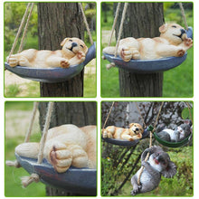 Load image into Gallery viewer, Cutest Sleeping Labrador Hanging Garden StatueHome Decor