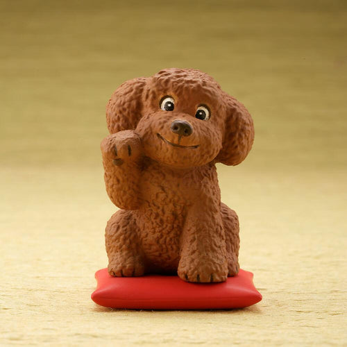 Cutest Toy Poodle / Cockapoo Desktop Ornament FigurineHome DecorToy Poodle / Cockapoo