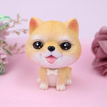 Load image into Gallery viewer, Cutest White Toy Poodle Love Miniature BobbleheadCar AccessoriesShiba Inu