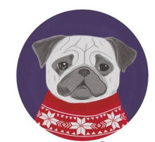 Load image into Gallery viewer, Cutest Winter Scarf French Bulldog Floor RugHome DecorPugSmall