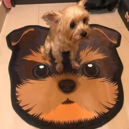 Cutest Yorkie / Yorkshire Terrier Floor RugHome DecorYorkie / Yorkshire TerrierMedium