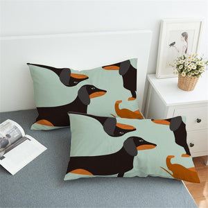 Dachshund All Day Pillow Covers - 2 pcsBedding