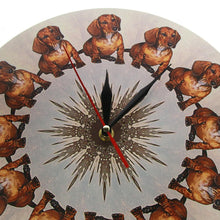 Load image into Gallery viewer, Dachshund All Day Wall ClockHome Decor