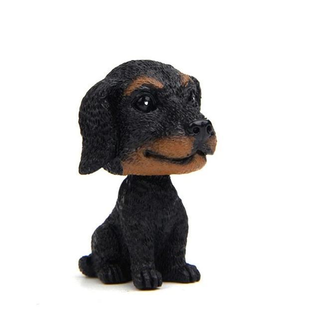 Dachshund Love Miniature Car BobbleheadCar AccessoriesDachshund